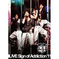 LIVE DVD「G.Addict LIVE Sign of Addiction'11」